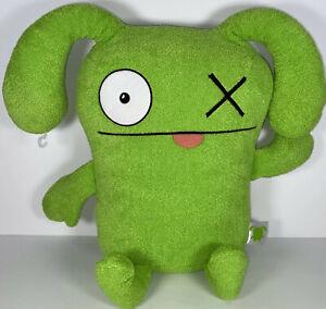 "Uglydolls Big XL Green OX Large Plush Stuffed Toy 18.5"" UGLY DOLL MONSTER"