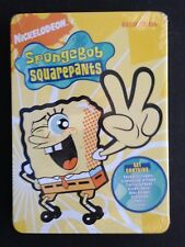 Nickelodeon SpongeBob Activity Tin/Set: Crayons, Stickers & more!; free Aust.P&H