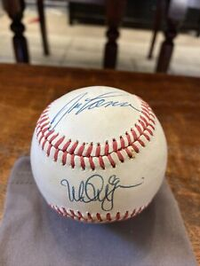 Mark McGwire Jose Canseco Signed Baseball PSA DNA Coa Oakland A's Autographed