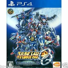 Super Robot Wars OG the Moon Dwellers Namco Sony Ps4 Japon Occaz