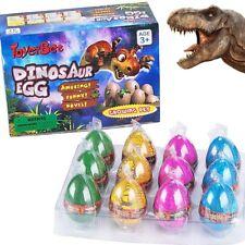 German Trendseller® - 3 Magisches Dino Ei | Echt schlüpfender Dino | Mitgebsel