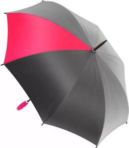 Nautica Umbrella - Large, Portable, Lightweight  Folding - Polyester -gel Handle
