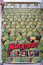 Mars Attack Vintage Movie Original Poster Tim Burton Film Collectibles Gift