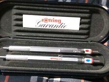 """Penne (2)ROTRING """"600"""" Ballpoint Originale Tedesca In 1 Confezione Originale..."""