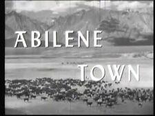 ABILENE TOWN, 1946, classic RANDOLPH SCOTT, Ann Dvorak, Western: DVD-R Region 2