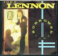 "JOHN LENNON - Borrowed Time - Original 1984 UK injection moulded 7"" vinyl single"