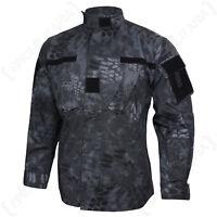 MANDRA Night Camo US ACU FIELD JACKET Military Camouflage Coat - All Sizes