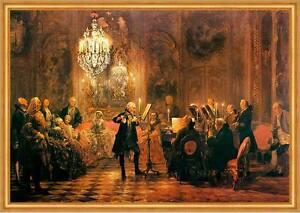 Flötenkonzert Friedrich der Große Solist Menzel Hohenzollern LW A2 113