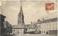 Honfleur  la place de l'église sainte catherine 14 calvados