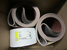 10 Pcs Ea Klingspor 4 X 84 Cs310 500x 4 Abrasive Sanding Cloth Belts 73822