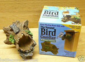 Natural Bird Guardian Protector Bluebird House Entry