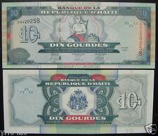 Haiti Paper Money 10 Gourdes 2004 UNC