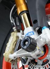 Protection de fourche Moto R&G Racing noir Aprilia RSV4 RF / TUONO V4 RR  2016