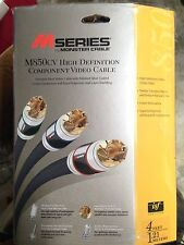 Monster Cable M850CV High Definition Component Video Cable (4ft)