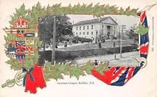 HALIFAX, NOVA SCOTIA, CANADA, GARRISON CHAPEL, MAPLE LEAF & FLAG BORDER, c. 1902