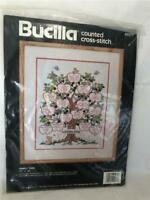 "Bucilla Counted Cross Stitch Kit 40577 FAMILY TREE 11""x14"" New Sealed"