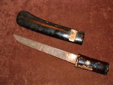 [S754] Japanese Samurai Sword:  Mumei Tanto in Koshirae