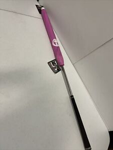 DrizzleStik Flex- Golf Club Umbrella, Pink/White