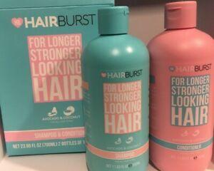 Hairburst Shampoo and Conditioner - SLS Paraben Free - For Longer, Stronger Hair