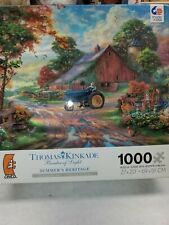Thomas Kinkade 1000 Piece Jigsaw Puzzle Summer's Heritage 27x20 Painter of Light