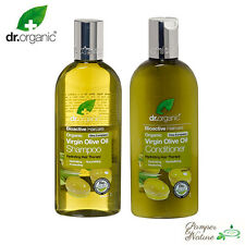 Dr Organic Virgin Olive Oil Shampoo & Conditioner 2 x 265ml