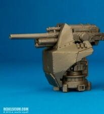 "Star Wars Heavy Armored Blaster Cannon Turret accessory for 3.75"" action figures"