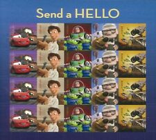 USA Stamp, 2011 Send a Hello, Disney, Cartoon cars,toy story , etc Fast Shipping