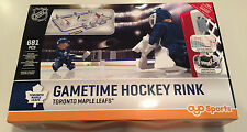 NHL Hockey Toronto Maple Leafs Full Size Oyo Mini Figure Rink Build able Goalie