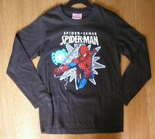 Spiderman 3//4//6//8 a/ños Camiseta de Manga Larga con Capucha
