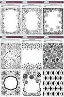 """Creative Expressions - Christmas Embossing Folder by Sue Wilson - 5 3/4 x 7 1/2"""""""