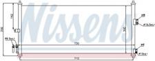 Nissens 94616 condensador, aire acondicionado para nissan