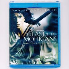 Last of the Mohicans 1992 NR movie, new Blu-ray Cooper, Daniel Day-Lewis M Stowe