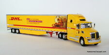 "DCP 1:64 WESTERN STAR 5700XE 68"" HIGH ROOF W/ 53' REFRIGERATED TRAILER: DHL COLD"