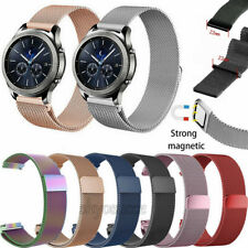 Milanese Loop Magnetic Mesh Strap For Samsung Galaxy Watch 3 41mm 45mm Active 2