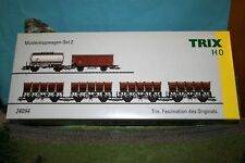 "TRIX  24094  WAGEN-SET  ""MULDENKIPPWAGEN-SET 2""  EPOCHE III  der  DB  NEU!!!!!!"