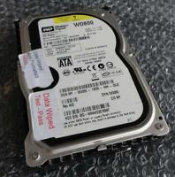 80GB Dell X9280 0X9280 Western Digital WD Raptor WD800GD-75FLC3 SATA Hard Drive