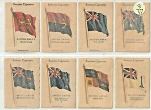 J.Wix Set 48  British Empire Flags.Territories,Colonies,Naval Printed in USA(S5)