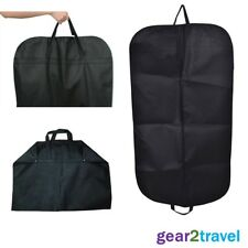 Full Size Suit Carrier Garment Cover Clothing Travel Bag Strong Woven Nylon NEW