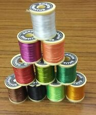 Gordon Griffiths Nylon Trout Floss  x 10 mixed spools (NFS)