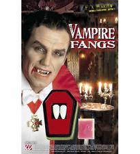 Denti Vampiro Canini Dracula Halloween Adulto Carnevale