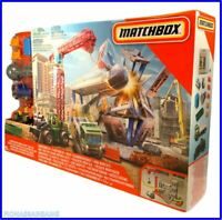 NEW & SEALED Matchbox Downtown Demolition Playset Construction Site & Vehicles