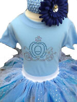 Baby Grow Princess Neon Tutu Skirt 80s Fancy Dress Party Costume Girl Elsa Set