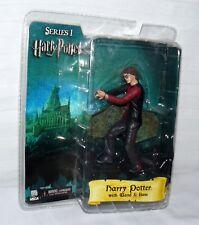 "Harry Potter With Wand & Base Maze Order Phoenix 6"" Series 1 Neca 2007"