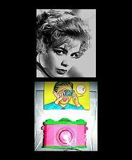 Sandra Dee 1950s Photo Hollywood Movie Star Mini Camera Viewer Hong Kong COA