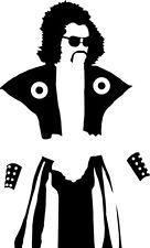 "Berry Gordy's the Last Dragon Inspired Sho Nuff Vinyl Decal Window Sticker 4"""