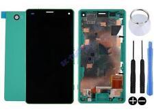 KIT COMPLET VITRE TACTILE ÉCRAN LCD CHASSIS ARRIÈRE SONY XPERIA Z3 COMPACT VERT