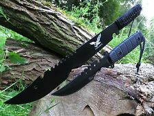 2er set machete cuchillo Knife Bowie busch cuchillo coltello Hunting macete machette