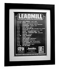 SHEFFIELD LEADMILL+POSTER+AD+RARE ORIGINAL 1997+QUALITY FRAMED+FAST GLOBAL SHIP