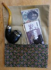 Civil War TOBACCO Wallet , Handsewn New Made GREEN GOLD RED