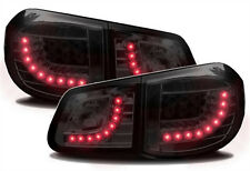 LED taillights set for VW TIGUAN 5N 07-11 in BLACK clear finish rear LIGHTS